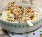 Garnelen mit herzhaftem Kartoffelsalat