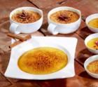 Crème Brûlée mit Ceylon Zimt und Dessertkirschen
